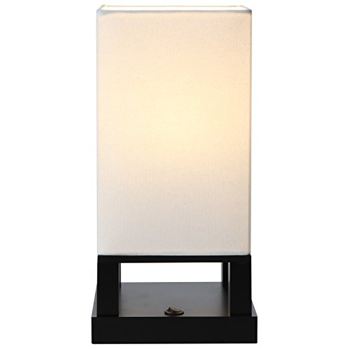 Classic Black Shade Diffused Light Source With Open Box
