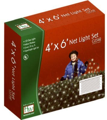 holiday wonderland 150 count clear bulbs net style light set 150 count clear bulbs holiday wonderland 150 count clear bulbs net style light set size 4 x