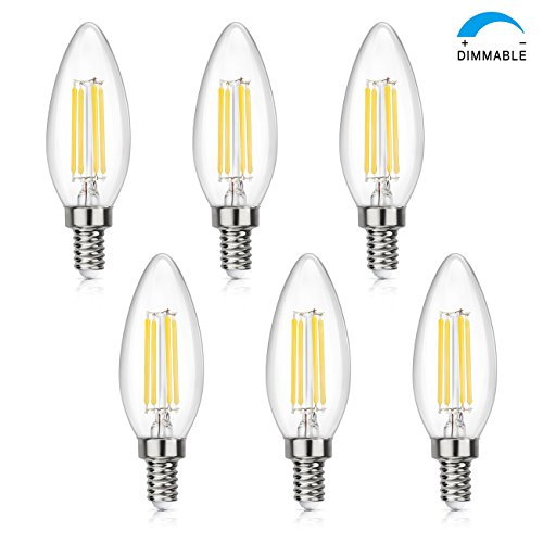 Dimmable edison led bulb kohree 6w vintage led filament light please do not hesitate to contact us if you have questions we will respond within 24 business hours dimmable led dimmable 4w led filament candle bulb aloadofball Choice Image