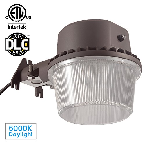 Hyperikon led security light black 20w 100w equivalent outdoor energy efficient economicalthis led barn light is energy efficient so you can save money on the cost of product premium powder coat finish provides aloadofball Image collections