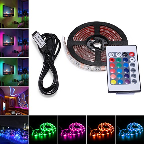 Led strip lights led lights sync to music 164ft5m led light strip easy to control led lights by app 3 perfectly for led tape diy project is compatible with both waterproof and non waterproof light strips mozeypictures Image collections