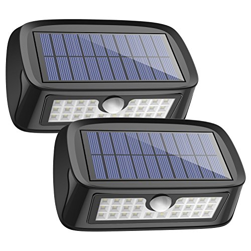 Solar Lights Waterproof 26 Led Wall Light Outdoor Security