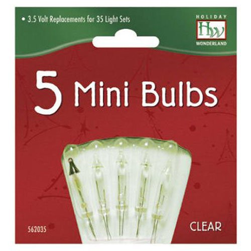 mini christmas light replacement bulbs indoor or outdoor use specially designed for use with 35 70 and 140 light sets and made to deliver easy