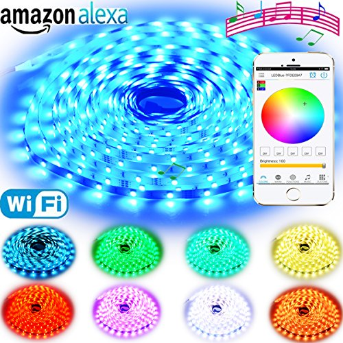 Expower Smart WiFi Light,Smart Bulb Dimmable 6 5W RGB Led