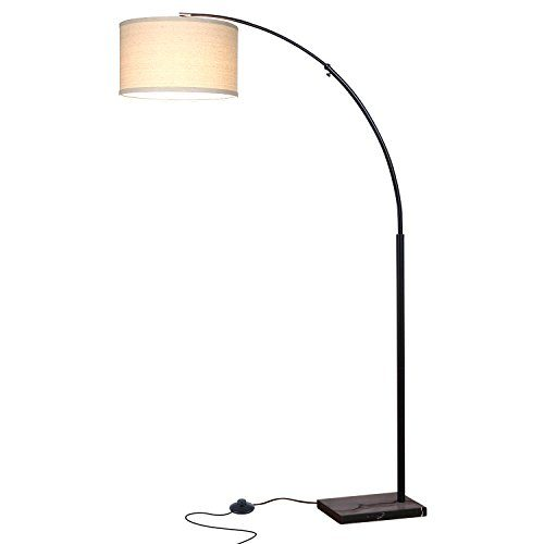 Brightech Logan Led Floor Lamp Classic Arc Floor Lamp