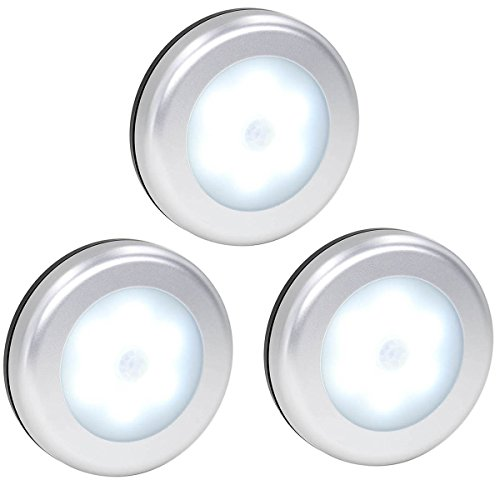 The wall light is sent with 3M adhesive pads, peel and easy to stick anywhere. Features:>> perfect for stairs, bathroom, bedroom, cabinet closet, ...