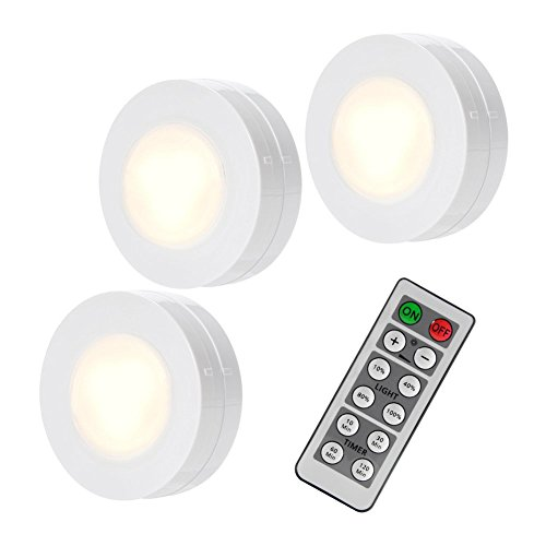 SOLLED Wireless LED Puck Lights, Kitchen Under Cabinet
