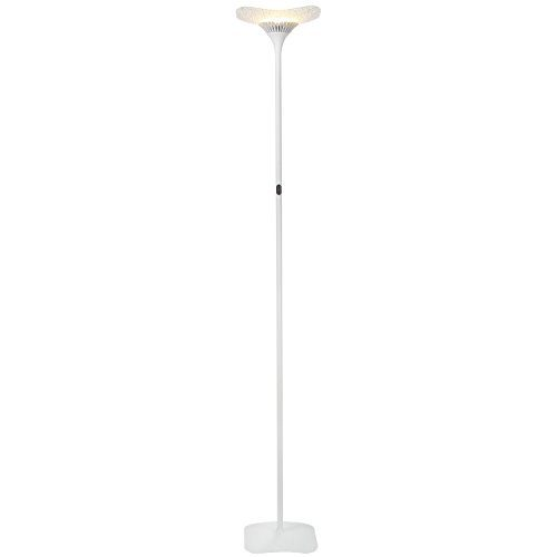 Brightech Sky Glass Led Torchiere Floor Lamp Energy
