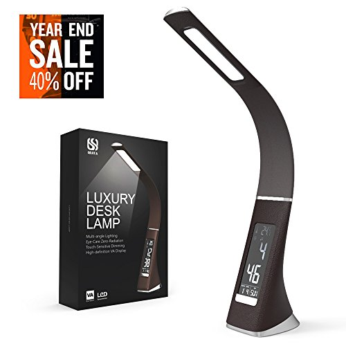 Attractive Led Desk Lamp A Luxury Look And Feel This Is Very Table Light The Has Lithium Metal Battery So Time Date