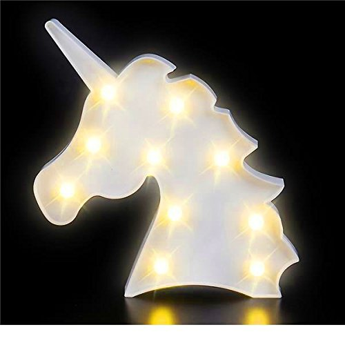 this is sure to make your kid feel safe and wisp him off to sleep unicorn light box covered in leds to help your kid sleep at night as home decor
