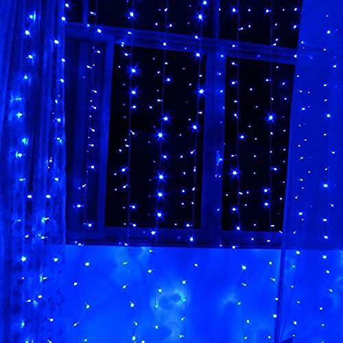 Control up to 8 modes – Autolizer 100 LED BLUE Fairy String Lights