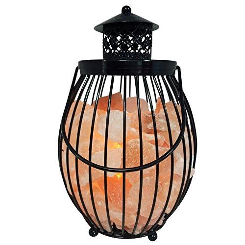Himalayan Glow Lantern Himalayan Salt Lamp 12 Inch Table Lamp