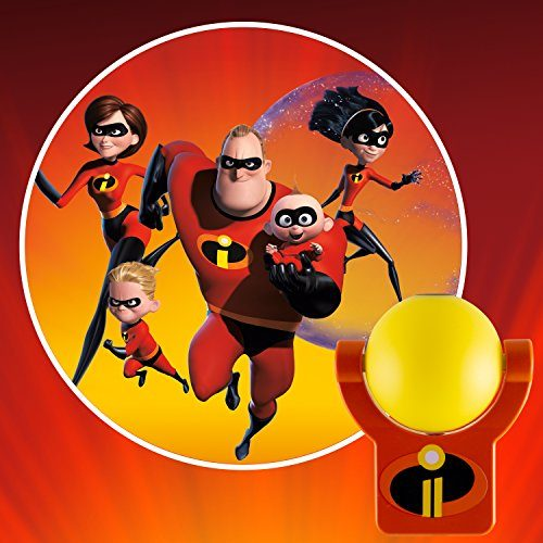 Projectables 41247 Incredibles 2 Led Plug In Night Light