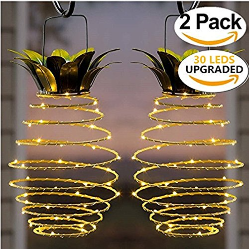 Phenomenal Kazoku Outdoor Decor Solar Hanging Light With 30 Leds Upgraded Wiring 101 Vieworaxxcnl
