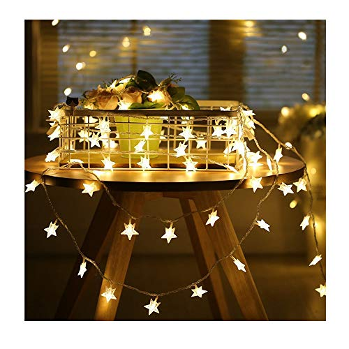 Applying Scene: Home:this Cute Stars Are Long Enough To Go From One End Of  The Left Window All The Way, Wrapped Around Several Planters And Shelves,  ...