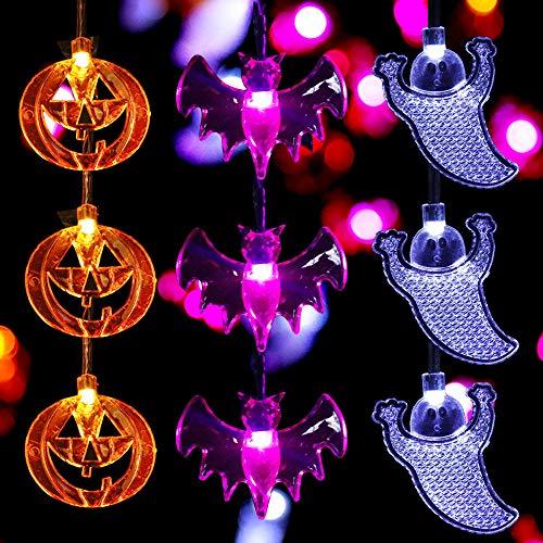 Joylamp Halloween String Lights Set Of 3 Halloween Lights 11 5 Feet