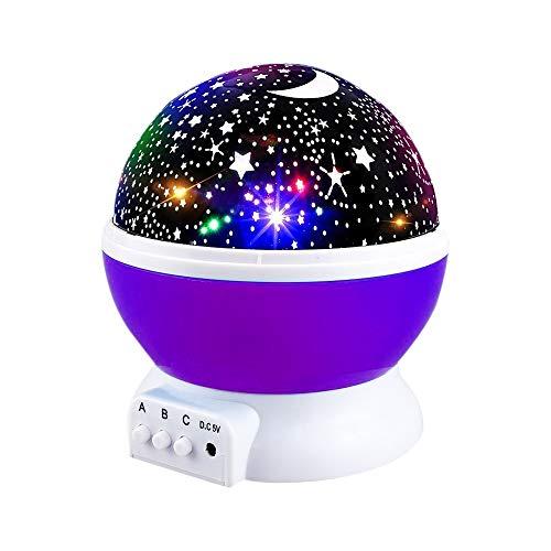 Christmas Gifts For Girls Age 11.Star Projector Light Moon Sky Night Light Star Light