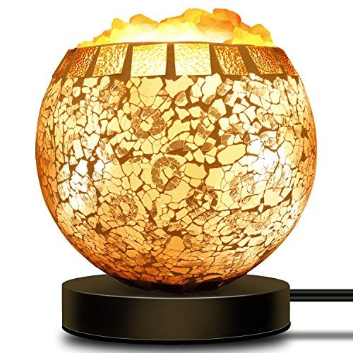 Coowoo Smart Wireless Salt Lamp Works With Alexa Echo