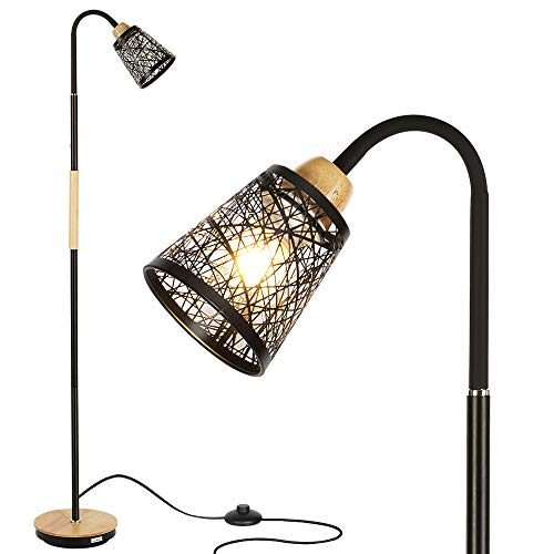 Tall Standing Lamp With 360 176 Adjustable Swing Arm