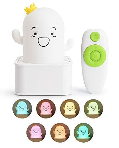 Qoecycth Night Lights For Kids Baby Nursery Lamp 7