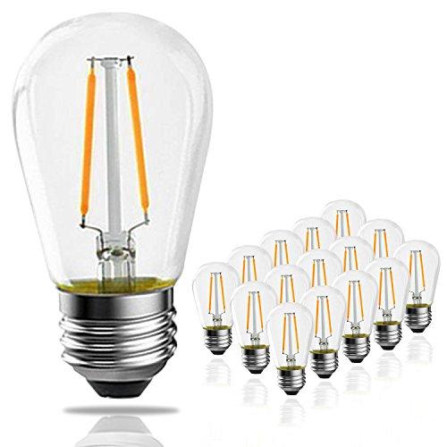 2w S14 Led Outdoor Edison Light Bulbs For String Light
