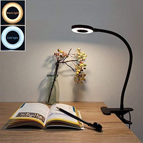 Led Desk Lamp Adjustable 2 Mode Amp 2 Level Cold Warm Light