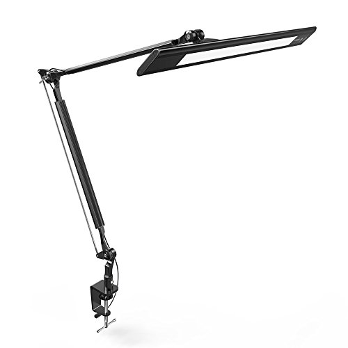 Anker Lumos E2 Dimmable LED Desk Lamp with Portable Clamp ...