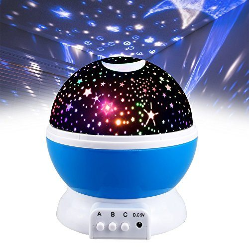 Toys for 2-10 Year Old Boys, DIMY Starry Night Light ...