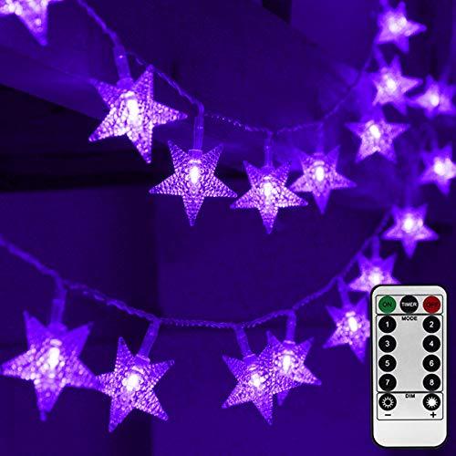 Merkury Innovations LED Window Curtain String Lights
